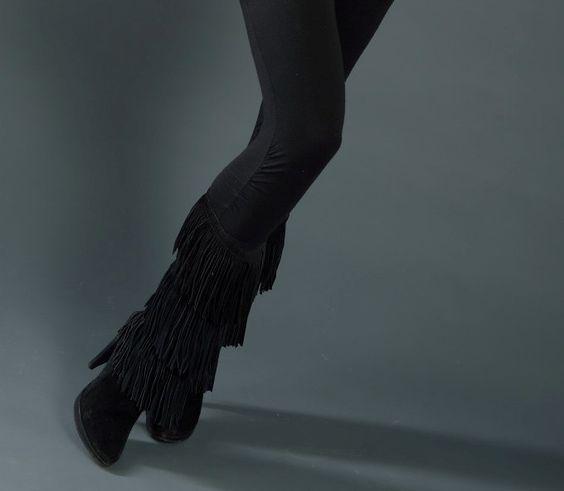 Stivali con frange - stivali must have dell'autunno-inverno 2015-2016!!! Shop online: www.loggicalzature.com Details on: http://calzatureon-line.it/