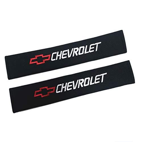 Chevrolet 33CM QZS Car Seat Belt Shoulder Pads Strap Covers Cushion 1 Pair//Set for Car