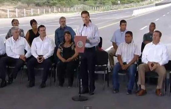 #Emprendedores Peña Nieto inauguró ampliación de la Carretera León – Lagos de Moreno - http://www.tiempodeequilibrio.com/pena-nieto-inauguro-ampliacion-de-la-carretera-leon-lagos-de-moreno/