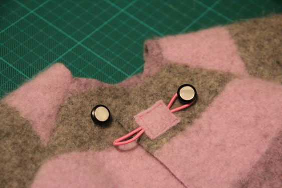 old buttons on jacket - vintage buttons