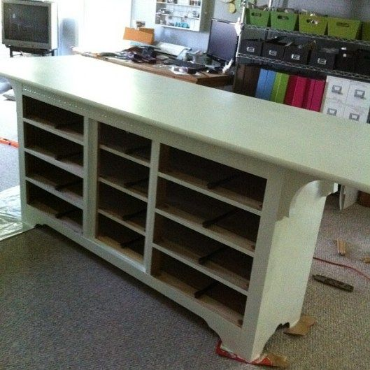 Craft Tables, Dressers And Crafts On Pinterest
