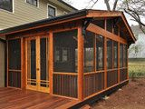 Craftsman Screen Porch - traditional - - atlanta - by Clark Harris