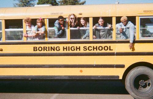 Follow Ellevxo Aesthetic Yellow School Bus Fun With