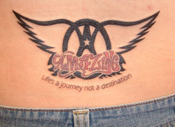 Tatoo de fan de aerosmith canci n amazing life 39 s a for Steven tyler tattoos
