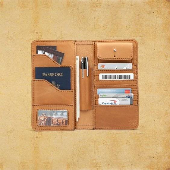 $178.00 Large Leather Wallet - Classic Leather Wallets by SaddleBack Leather Co.