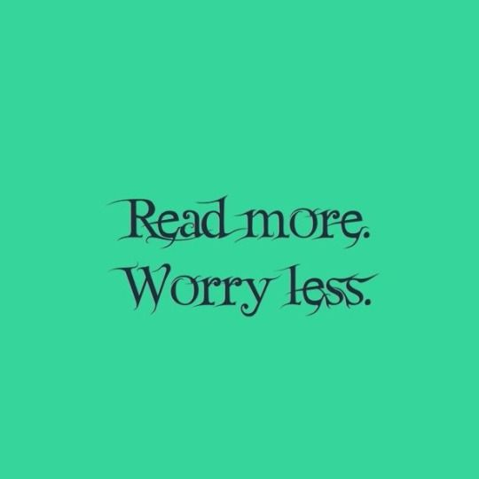 Read More. Worry Less.
