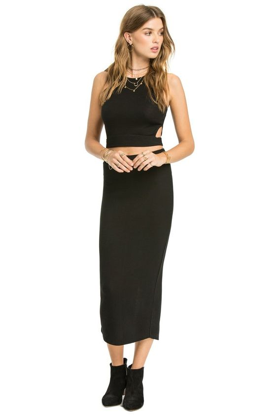 1 LEFT! Amuse Society Stacy Skirt / Black Sands – RICA boutique