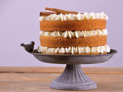 Receta | Tarta de calabaza y crema de queso - canalcocina.es