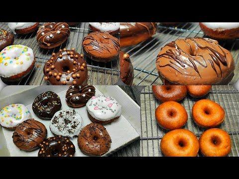 الدونتس باسهل طريقة واحلى تزيين كل الاخطاء اللى ممكن تقابلنا Youtube Desserts Breakfast Food