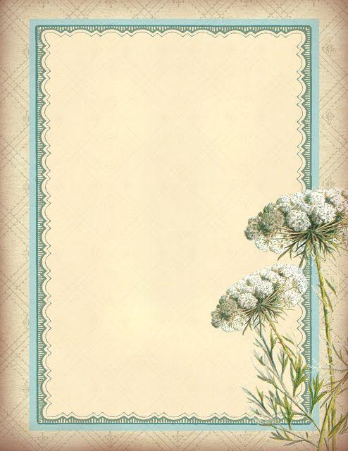Lilac & Lavender ~ Floral Background Paper