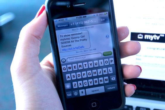 How to get text message reminders for your favorite TV shows