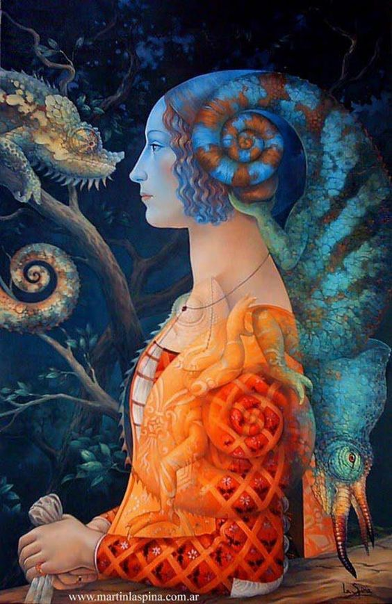 El argentino Martín La Spina (La Plata, 1973) es un artista pintor, ilustrador y muralista.