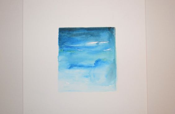 Square Abstract Painting by ChloeLouiseCreates on Etsy
