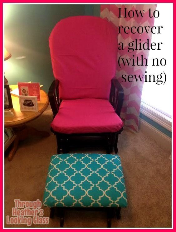 For those who cannot or will not sew... I like this for a less permanent slip cover.