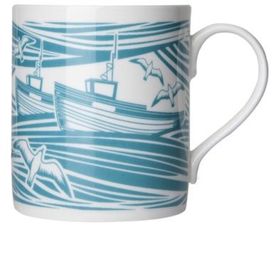 Whitby Mug from Mini Moderns - match the wall paper - Whitby mad!