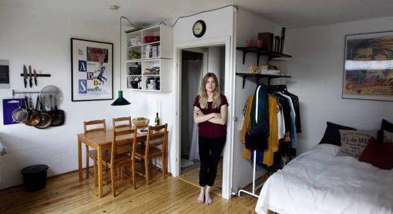 Sarah bor på 30 m2: »jeg gider ikke flere panikløsninger og ...