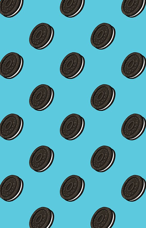 Oreo Cookie Pattern Design By Rawmawr In 2021 Pretty Wallpaper Iphone Oreo Wallpaper Oreo Wallpaper Iphone Best cookies hd wallpapers
