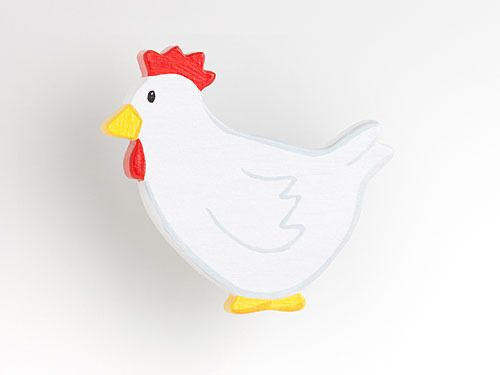 Huhn - Möbelgriff / Möbelknopf für Kinderzimmer