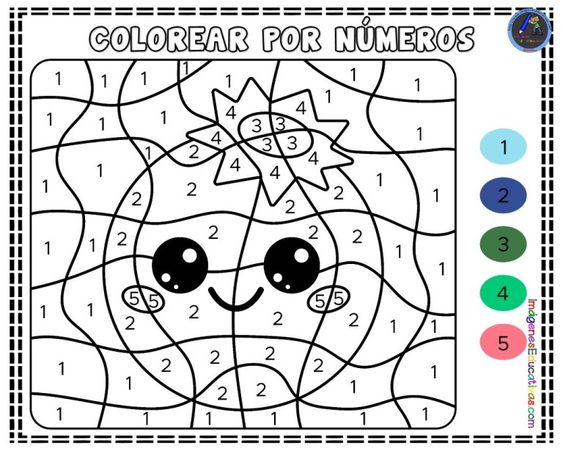 Cuaderno Para Colorear Por Numeros Nivel Avanzado Imagenes Educativas Cards Color Art