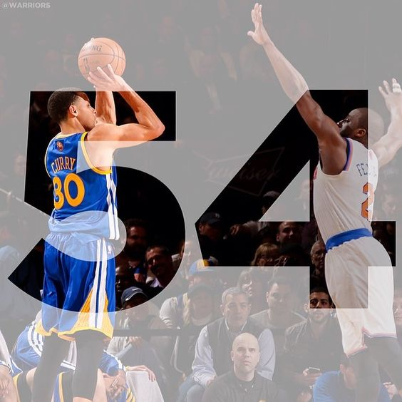 #ThrowbackThursday - One year ago today, Stephen Curry scored a career-high 54 points at Madison Square Garden.