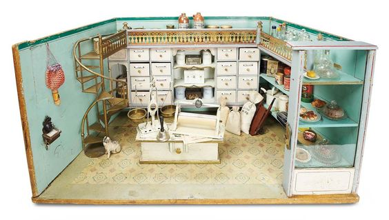 Miniature store made in Germany #4