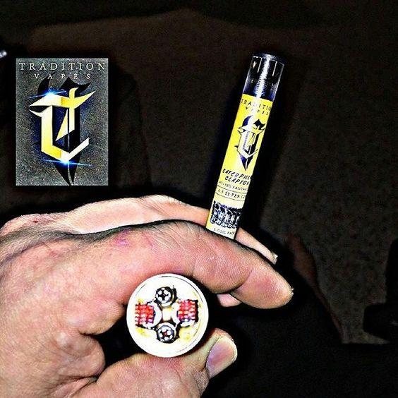 #Repost @tank_vapes_ny_tvl  Fresh build in the @dominusmods lochaber with some @traditionvapes caterpillar Clapton 28g32g #vape#vapeporn #vapestagram #vapenation#vapecommunity #vapecapitol #vapix #buildlife