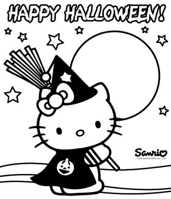 Halloween Coloring Pages Halloween Coloring And Witch