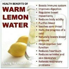 Lemon water benefits 52900