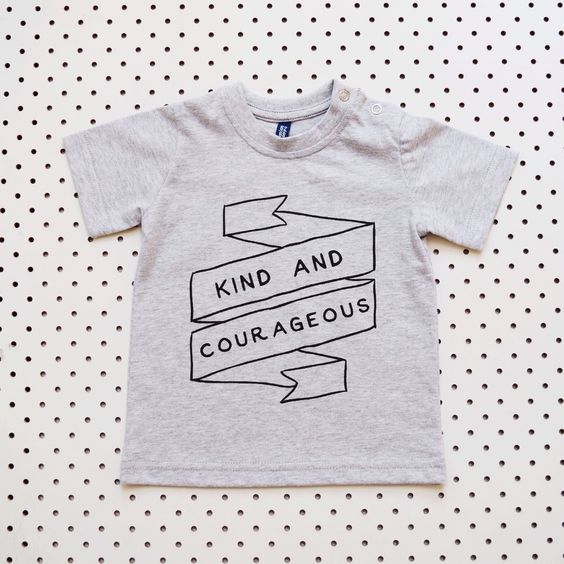 Image of Kind and Courageous Tshirt
