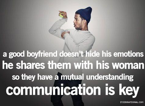 communication and honesty.