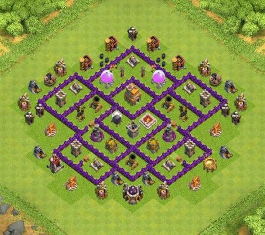 base th 7 clan war | Kumpulan Base TH COC November 2015 ...
