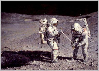 Moonrock-Earthbound by Alan Bean