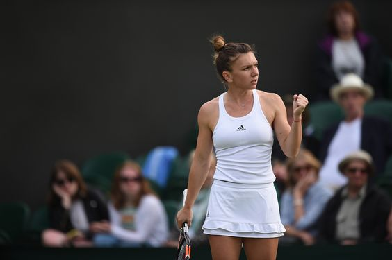 Simona Halep - first round - (Jon Buckle/AELTC) - from The Championships, Wimbledon 2016 - Official Site by IBM