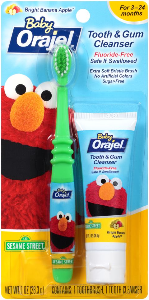 Baby Orajel™ Tooth & Gum Cleansers help your baby start an early oral care routine http://www.orajel.com/en/Early-Tooth-and-Gum-Care