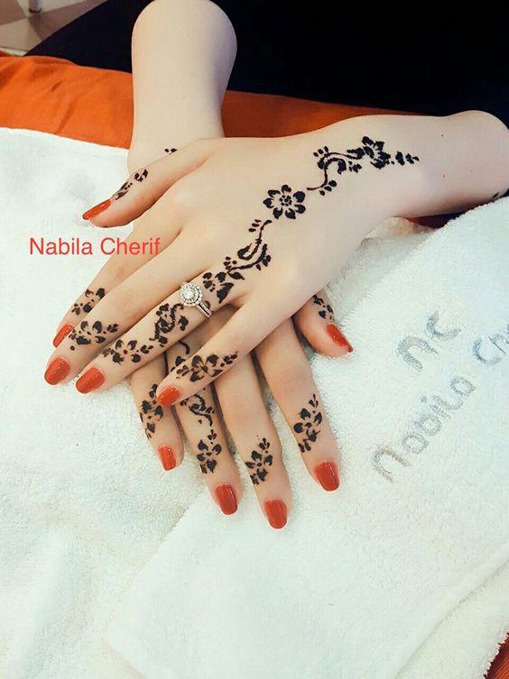 Gambar Henna Gampang