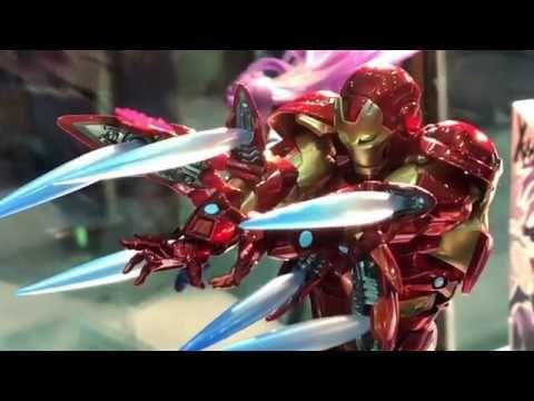 Tcc2018 Kaiyodo Amazing Yamaguchi Ironman Bleeding Edge Armor アメイジングヤマ Iron Man Marvel Comics Yamaguchi