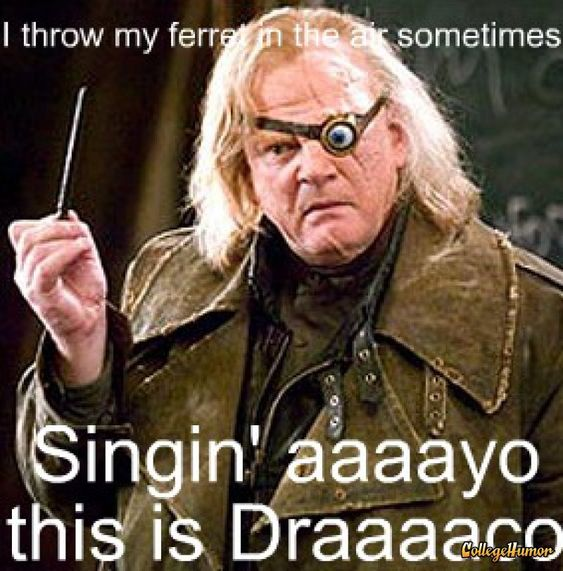 Mad Eye Moody :: Harry Potter and the Goblet of Fire