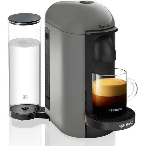Nespresso Vertuoplus Coffee And Espresso Maker By Breville Grey