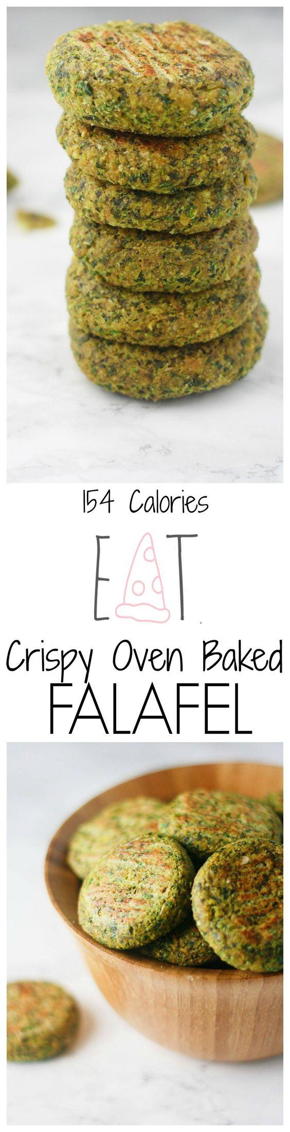 Easy Oven Baked Falafel | Recipe | Baked Falafel, Baked Falafel Recipe ...