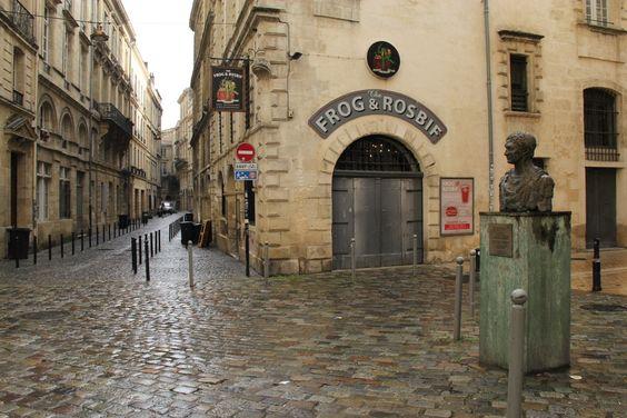Каменные улицы центра Бордо