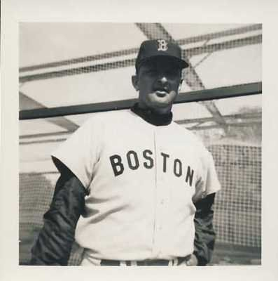 "GERALD HERRON VINTAGE BOSTON RED SOX 3.5X3.5 SNAPSHOT . $20.00. GERALD HERRON VINTAGE BOSTON RED SOX 3.5X3.5 SNAPSHOT PHOTO Photo Description GERALD HERRON VINTAGE (CIRCA 1960-1966) BOSTON RED SOX 3.5 X 3.5"" SNAPSHOT PHOTOGRAPH. ITEM PICTURED IS ACTUAL ITEM BUYER WILL RECEIVE. CLICK ON PHOTOS FOR CLEARER AND LARGER IMAGES. GREAT, AUTHENTIC BASEBALL COLLECTIBLE!!! Shipping and Payment"