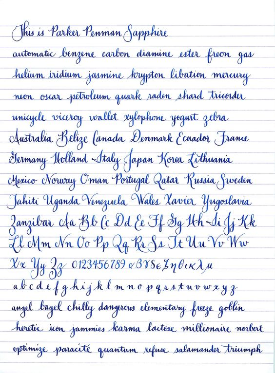 Worksheets How To Write Pretty Cursive Handwriting lovely penmanship sample from fpn member jgrasty paper and pens pretty cursive handwritinghandwriting