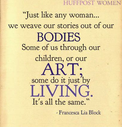 21 Quotes On Womanhood By Female Authors That Totally Nailed It: