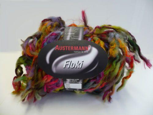 Floki-Austermann-Wolle-witziges-buntes-Effektgarn-50-g-Mutze-Loop-Schal