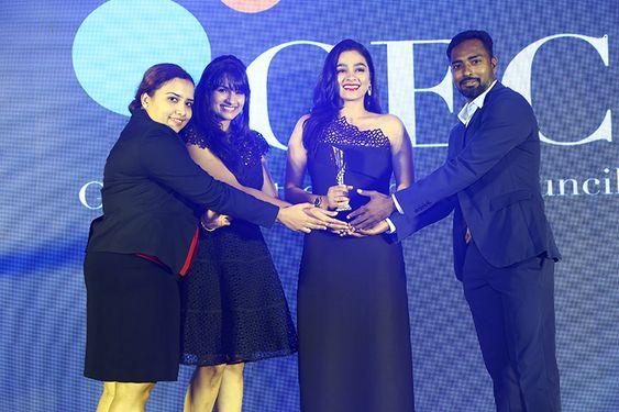 Actress Gayathri At Asia Pacific Business Award – 2019