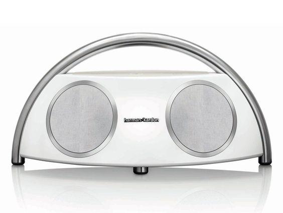 Go + Play Wireless Bluetooth Hi-Fi Speaker by Harman Kardon. Two Atlas woofers and two Ridge tweeters deliver powerful sound, USB charging port for charging other devices, cool wireless speaker for you. http://www.zocko.com/z/JJPCK