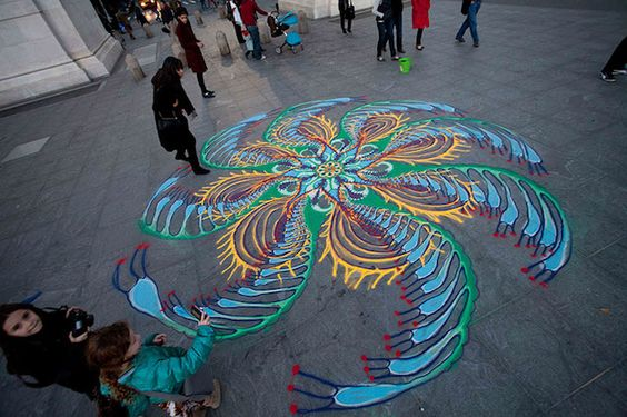 Temporary Sand Paintings – Fubiz™