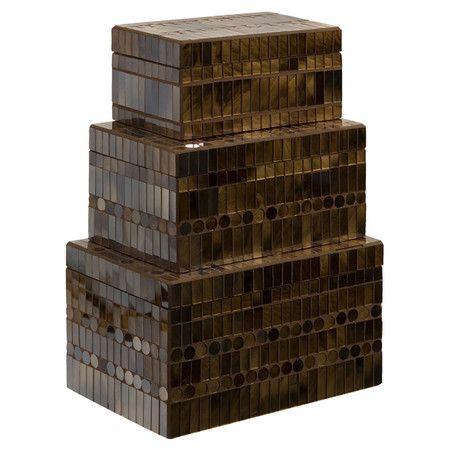 3-Piece Chai Trinket Box Set  at Joss and Main
