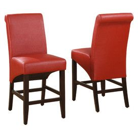 Cosmo Stool in Ruby (Set of 2)