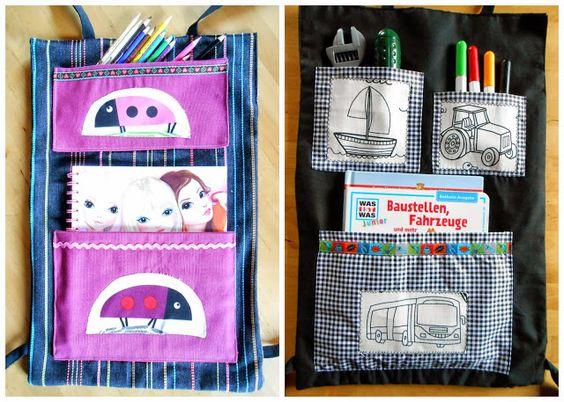 Costuramor: porta-coisinhas de criança